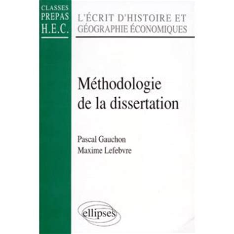Redaction dissertation histoire